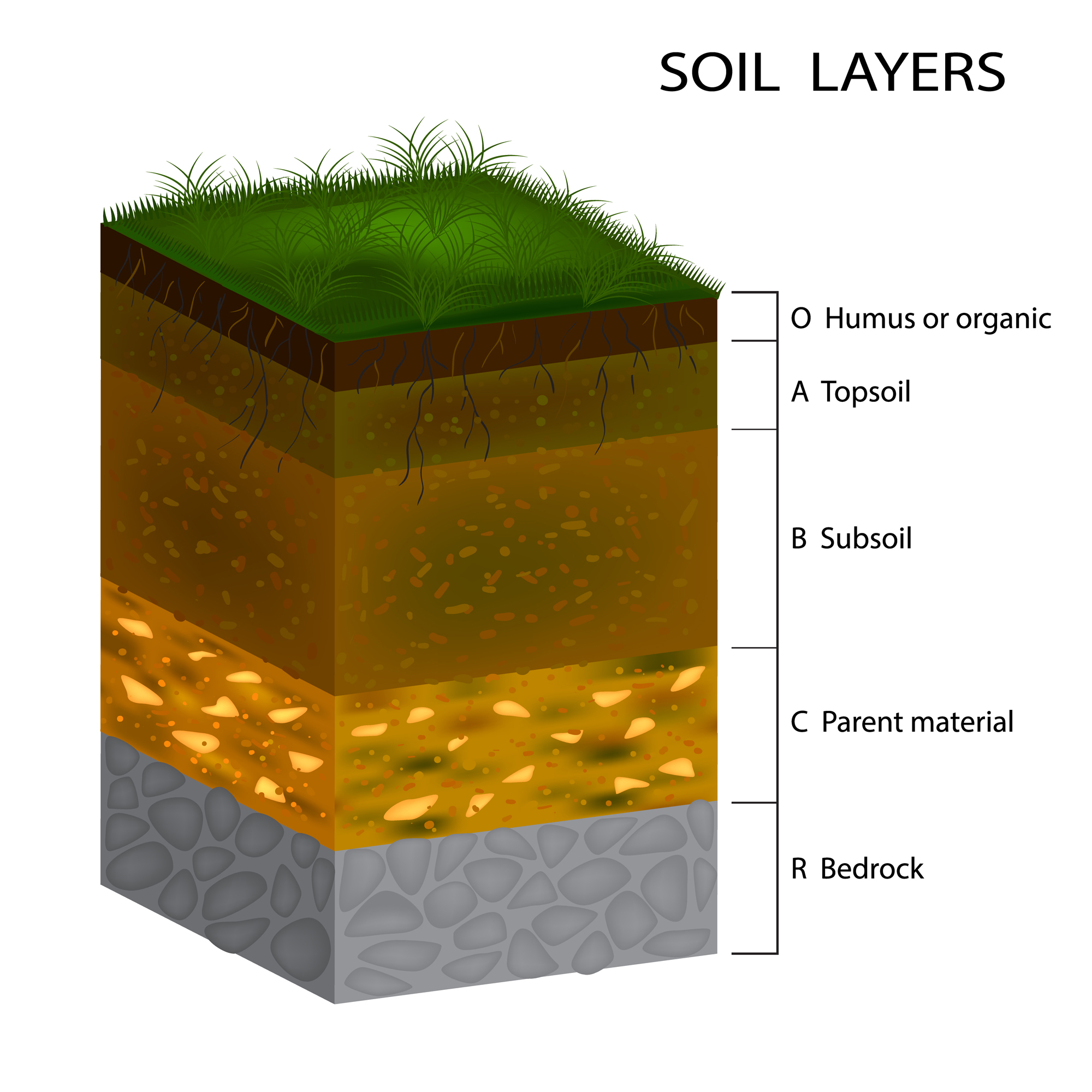soil layers - FAQ page